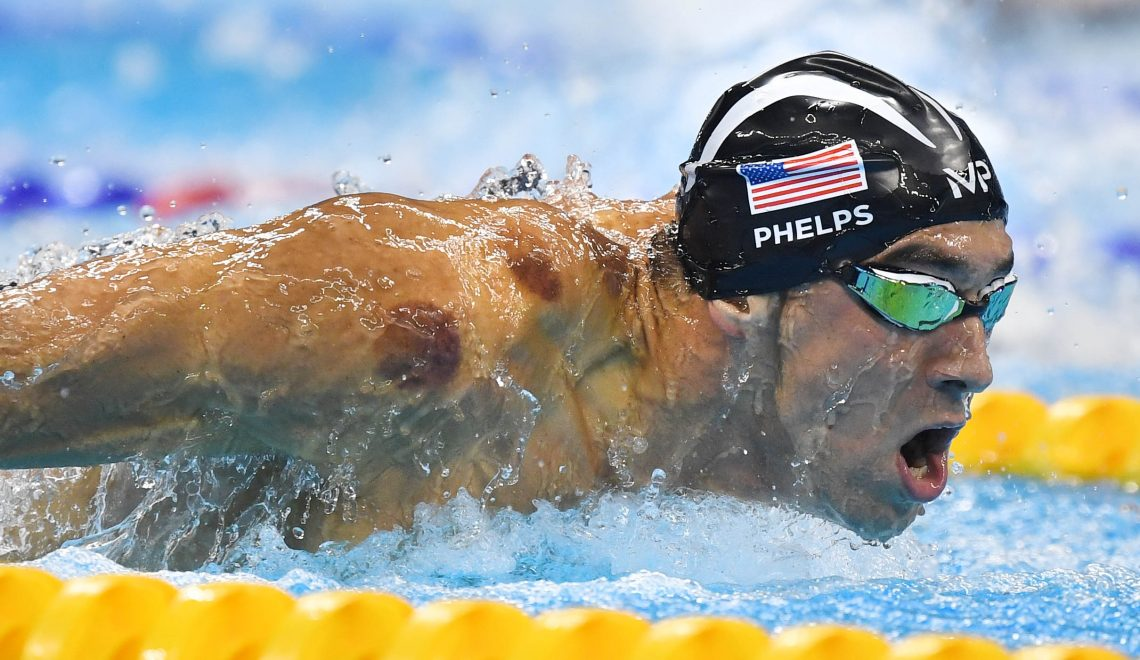 The Greatest Olympian Of All Time Michael Phelps Loves Cupping!